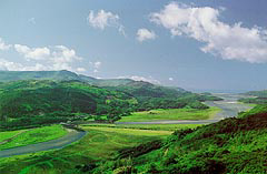 looking west along Mawddach -Dave Newbould