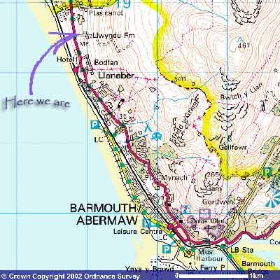 Barmouth map